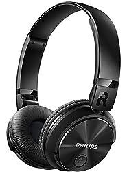 (Certified Refurbished) Philips SHB3060 Bluetooth Headphones (Black)