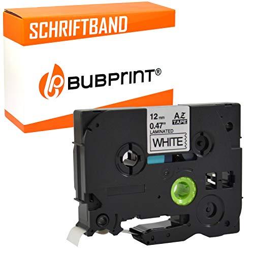 Bubprint nastro a cassetta compatibile per Brother TZE231 TZ-231 per P-Touch 900 1005 1010 1080 1200 P 1280 3600 P750W H100R E 100 E300VP H-500 H 110