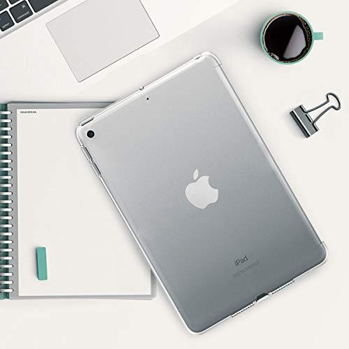 Transparente para Tablet en - Carcasa de TPU 2019 kwmobile Funda Inteligente para Apple iPad Mini 5 Trasera