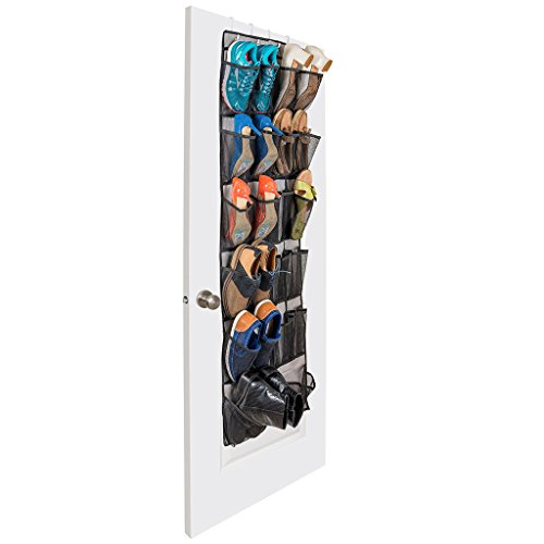 AA 600D Oxford panno 22 celle possono essere appeso dietro le scarpe da Porta ammissione appendere sacchetti oversize Capacità di memoria Shoe Bag ( dimensioni : 48*160cm )