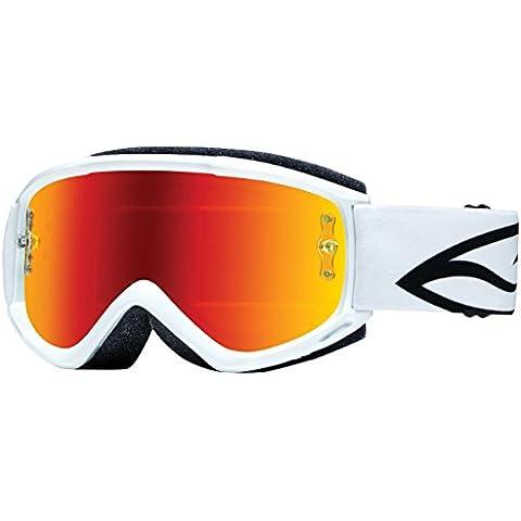 Smith Optics Occhiali Motocross, Bianco, M