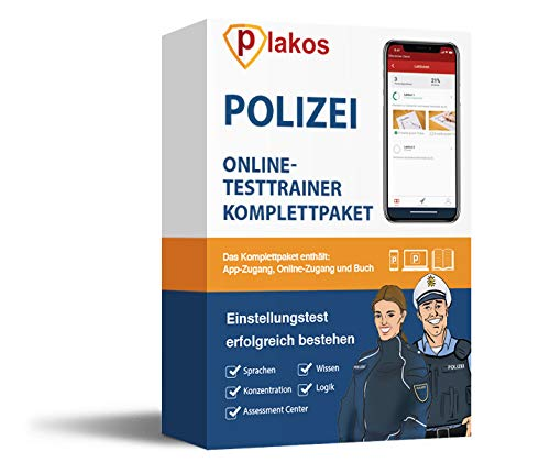Polizei Einstellungstest 2019 Online-Testtrainer mit Buch | 2500 Aufgaben mit Lösungen | Eignungstest im Auswahlverfahren bestehen: Erfahrungsbericht, Allgemeinwissen, Konzentration