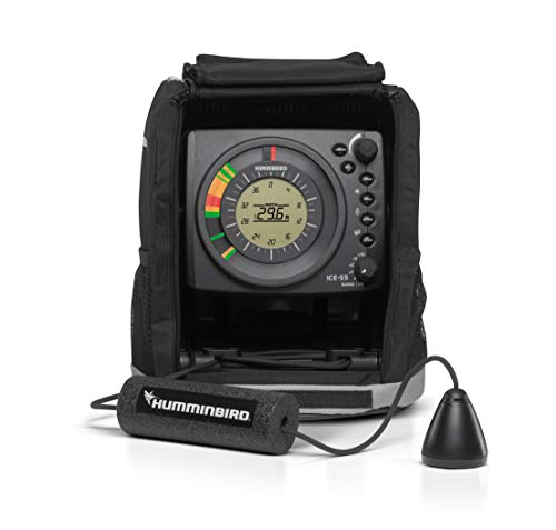Humminbird Ice-55 Six Farbe Flasher mit LCD Ice Flasher
