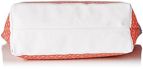 Lacoste Damen Nf1720cx Umhängetaschen, 30 x 14 x 35 cm ORANGE CROC (Orange Croc)