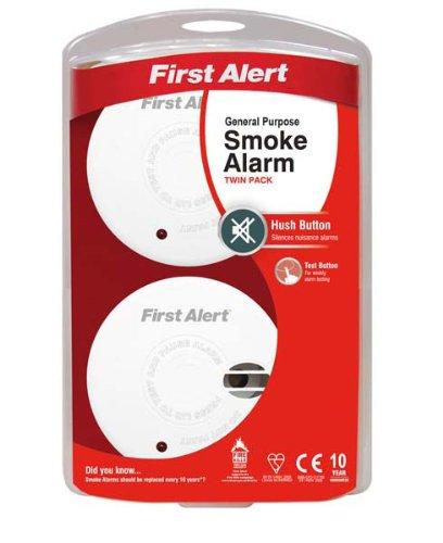 Preisvergleich Produktbild First Alert Rauchmelder Twin Pack