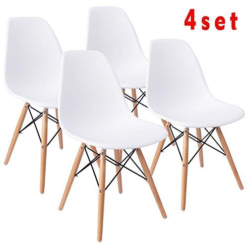 4 Stk Set Esszimmerstuhl Eiffelturm Retro Lounge Stühle, Bis Mitte Des Jahrhunderts  Modern Sieht,