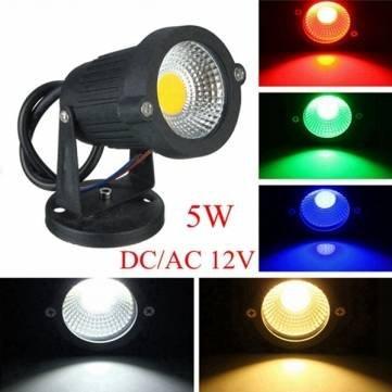 5W IP65 LED Flut-Licht mit Ausgangspunkt für Outdoor Landschaftsgarten-Weg DC / AC 12V