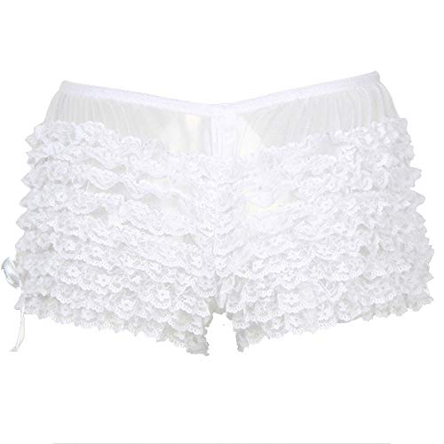 Weiß Europa Und Amerika XL Sexy Unterwäsche Damen Nachtclub Slip Spitze Schmetterling Sexy Dessous Weiß M (Schmetterling Baby Sexy Kostüme)