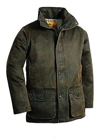 Veste de chasse façon cuir Ligne Verney-Carron Foxgame - Vert - Taille XL