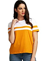 b387038d1e301 Yellows Women s Tops  Buy Yellows Women s Tops online at best prices ...