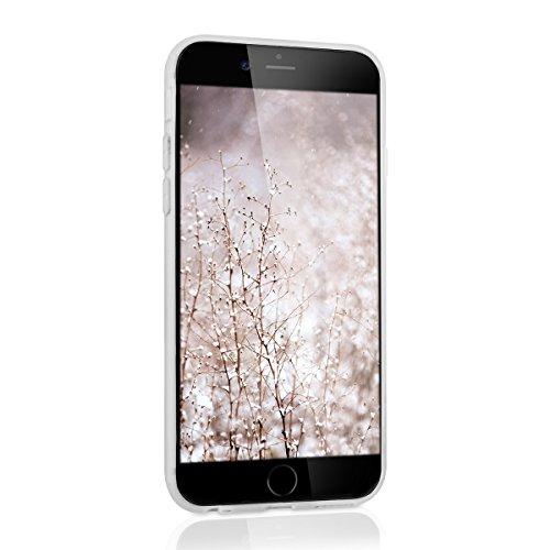 kwmobile Hardcase Schutzhülle für Apple iPhone 6 / 6S mit Aluminium Backcover und TPU Silikon Rahmen Bumper - Case Cover Hülle in Grau .Rosegold