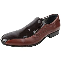 Woods Brown Formal Leather Shoes For Men (Size : 45 Euro)