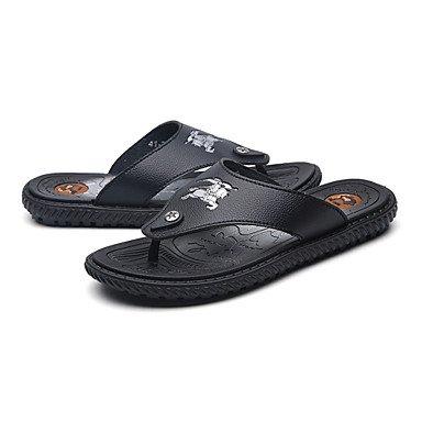 Uomo Slippers & Primavera Estate Autunno Comfort Light Suole PU esterna piana casuale HeelWalking Sh sandali US9.5 / EU42 / UK8.5 / CN43