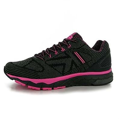 Karrimor D30 Excel 2 Damen Laufschuhe Sportschuhe Turnschuhe Jogging Sneaker Black/Pink 4 (37)