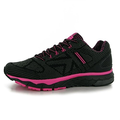 official photos 0d5f1 26e20 Karrimor Womens D30 Excel 2 Ladies Running Shoes Sports Lace Up Trainers  Runners Black/Pink UK 4 (37)