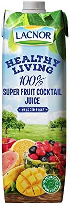 Lacnor Healthy Living Super Fruit Cocktail Juice - 1 Litre