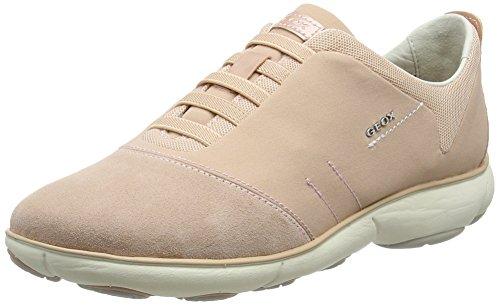 Geox D Nebula G, Sneakers Basses Femme Rose (Lt Pinkc8010)