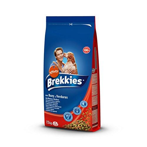 Brekkies Pienso para Perros con Buey y Verduras