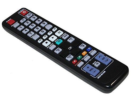Populsell DVD-Player-Fernbedienung AK59-00104R AK5900104R Ersatz für Samsung Blu-ray BD-P4600 BD-C5500 BD-C6900 BD-C7500...