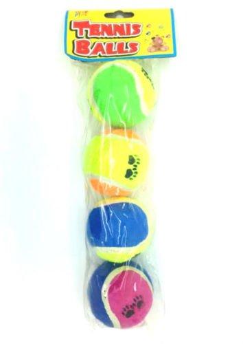 Animaux Jouez Balles de tennis - 4 Pack