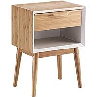 Contemporary Wood Mesita De Noche Hijo - Muebles de Dormitorio precios