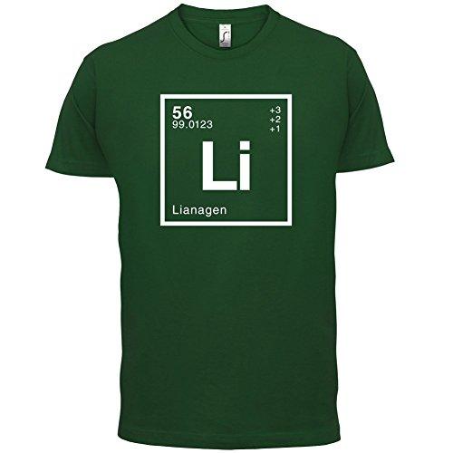 Liana Periodensystem - Herren T-Shirt - 13 Farben Flaschengrün