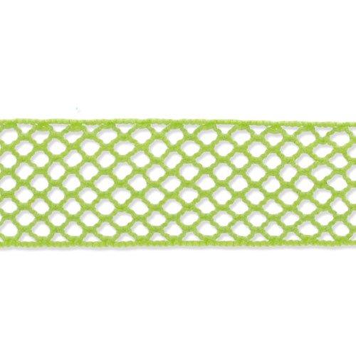 Fischnetz Band 15 mm AnisGrün x 1m - Fischnetz-band