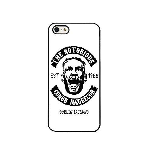 BigBazza Conor McGregor UFC Fight MMA The Notorious Irland Irish Fighter Handy Schutzhülle für iPhone 7(11,9cm)-in weiß