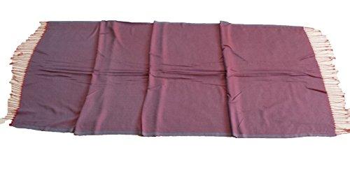 Ablamshop/Hamamtuch 100% Baumwolle Prewashed super sanft Hamamtuch Badetuch Handtuch Backpacker Strandtuch Saunatuch Babytuch Turkish Towel Pestemal Fouta mehrere Farben (BORDEUX)