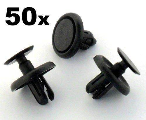 BEFESTIGUNG Clips / Klips x 50 - Dieser Clip passt ein 7mm Loch