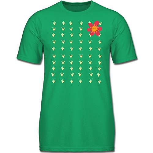 Kostüm Kinder Kaktus - Karneval & Fasching Kinder - Kaktus Karneval Kostüm - 152 (12-13 Jahre) - Grün - F130K - Jungen Kinder T-Shirt