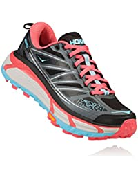 HOKA ONE ONE MAFATE SPEED 2 GRISE ET ROSE Chaussures de trail femme