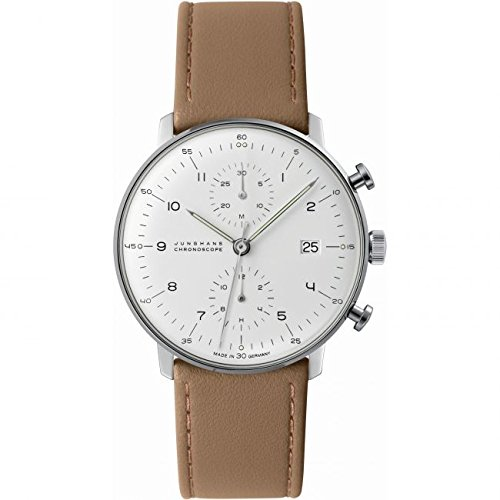 Mens Junghans Max Bill Chronoscope Automatic Chronograph Watch 027/4502.00