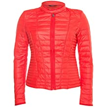 best loved 2f416 9aca1 Rosso it Donna Guess Piumino Amazon 7Iqw7