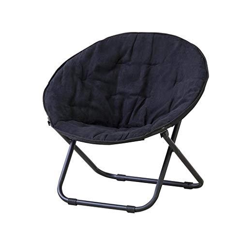 WYYY sedia da Ufficio Minimalista Moderno Morbido E Confortevole Panno + Cotone Due Colori Piegare Portatile Sole Tempo Libero Sedia Durable Forte