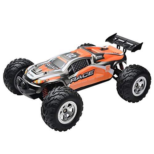 SHZJ EléCtrico Coche Teledirigido Off Road Monster Truck - Coche De Control Remoto - Terrain RC Cars - 1:12 Escala 2.4GHz Radio 4WD RáPido RC Car Toy Toddler Boy Boy Girl, Orange