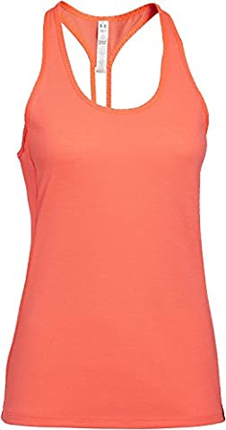 Under Armour Fly By Stretch Débardeur Femme After Burn/Reflective FR : XL (Taille Fabricant : XL)