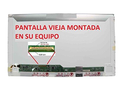"tecla2xtatil PANTALLA COMPATIBLE PARA PORTATIL TOSHIBA SATELLITE L750-1VV 15,6"" LCD LED BRILLO HD"