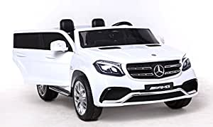 riricar mercedes benz gls 63 blanc 2 4ghz v hicule lectrique voiture jouet lectrique. Black Bedroom Furniture Sets. Home Design Ideas