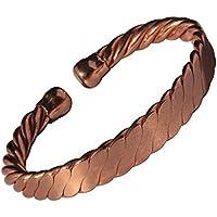 magnetisch massiv Kupfer verdreht Seil Kupfer Armband - 3 Handgelenk Größen - CCB -mb23 - Large - 210mm (8 1/4... preisvergleich bei billige-tabletten.eu