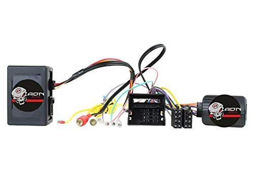 Interface Commande au volant BM12J pour BMW Ap04 Avec ampli JVC - ADNAuto
