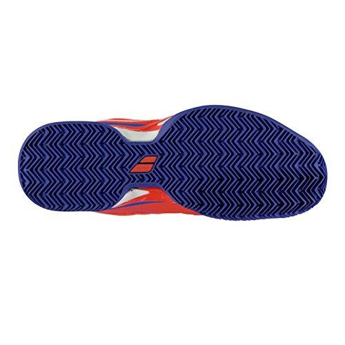 De Homens Sapatos Sapatas Vermelho Babolat Azul Sapatilhas Tênis De Desporto Propulse Saibro 0dx1Fq