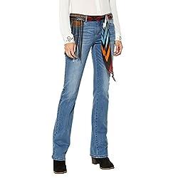 Desigual Jayne Pantalones Vaqueros Bootcut Azul Denim Medium Wash 5053 W29 para Mujer