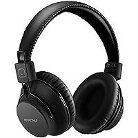 Mpow Cuffie Bluetooth H1 4.1 Over-Ear, Auricolari Bluetooth CSR Pieghevole Ergonomico con Microfono, Riduzione del Rumore Interno Cuffie Bluetooth Durata di 20 Ore per Smartphone e PC-Nero