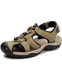 XUEQIN Herren Schuhe Sandalen Sommer Sport Sandalen Sportlich Strandschuhe atmungsaktiv Wasser Sandale (Farbe