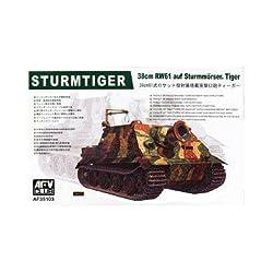 38cm RW61 auf SturmTiger Tank 1-35 AFV Club