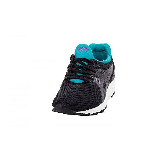 Asics Gel-kayano Trainer Evo Unisex-Erwachsene Sneaker noir bleu turquoise