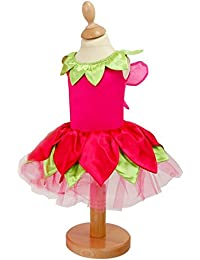 BABY 18-24 MTHS FLOWER FAIRY TUTU DRESS WITH WINGS AND HEADBAND PARTY PHOTO PROP SHOOT BY UK COMPANY FRILLY LILY