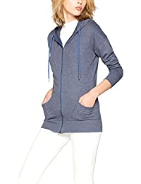 Iris & Lilly Women's Long Line Hoodie