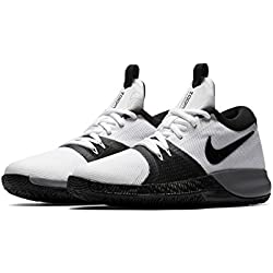 Nike PerformanceZOOM ASSERSION - Zapatillas de Baloncesto - White/Black/Cool Grey/Anthracite
